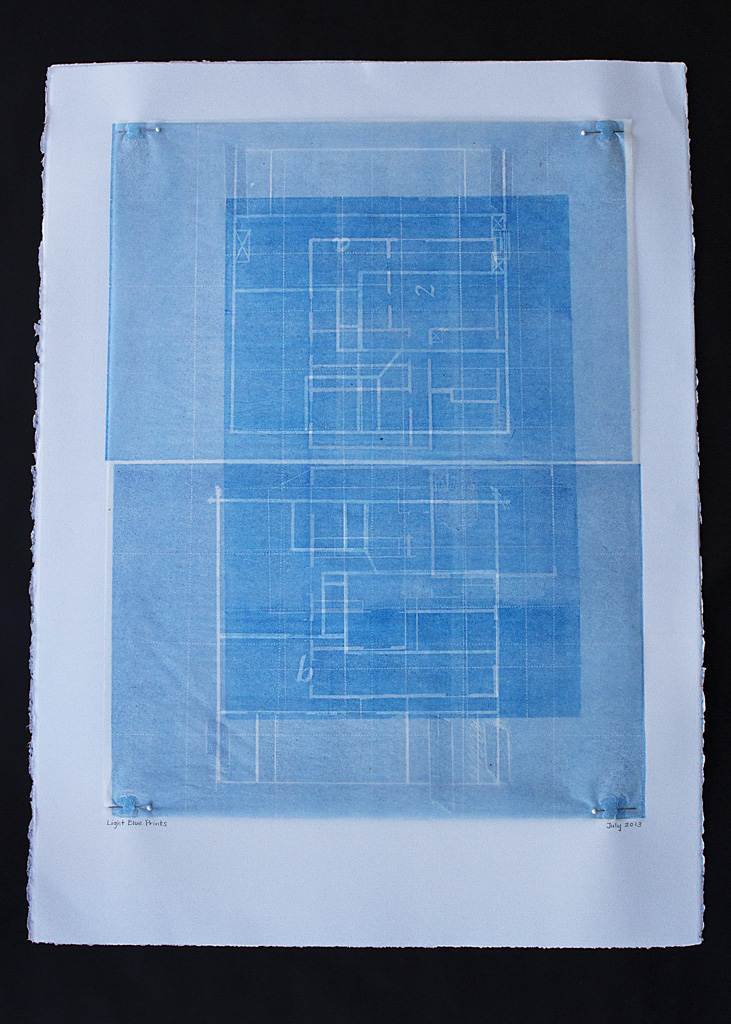 Light Blue Prints